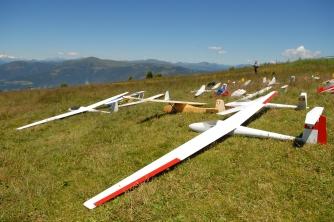 Modellfliegen am Wöllaner Nock und der Gerlitzen